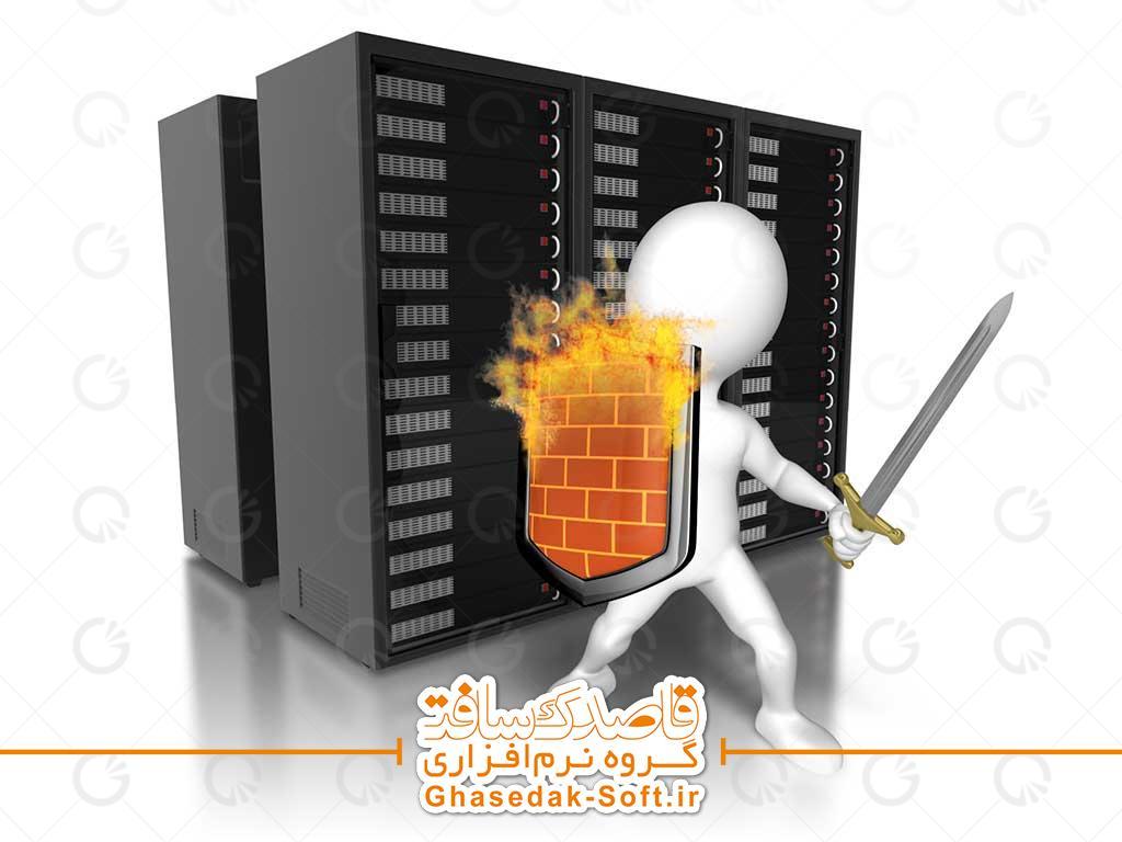 فايروال #نرم_افزار يا #سخت_افزاری است که اطلاعات ارسالی از طريق #اينترنت به شبکه خصوصی و يا کامپيوتر شخصی را فيلتر می نمايد. اطلاعات فيلترشده ، فرصت توزيع در شبکه را بدست نخواهند آورد.